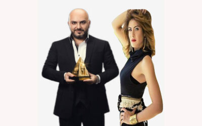 الفنانة هيدي كرم مع دكتور رامي العناني