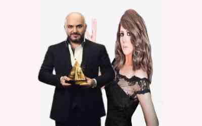 المغنية شذى مع دكتور رامي العناني