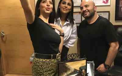 النجمة ميس حمدان و الدكتور رامي العناني