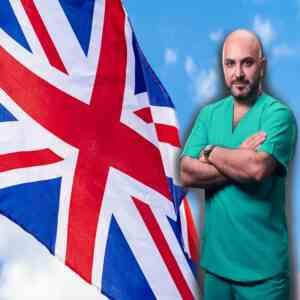 تدريب اطباء انجلترا