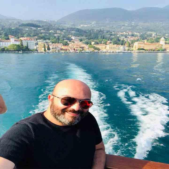 دكتور رامي العناني في ايطاليا