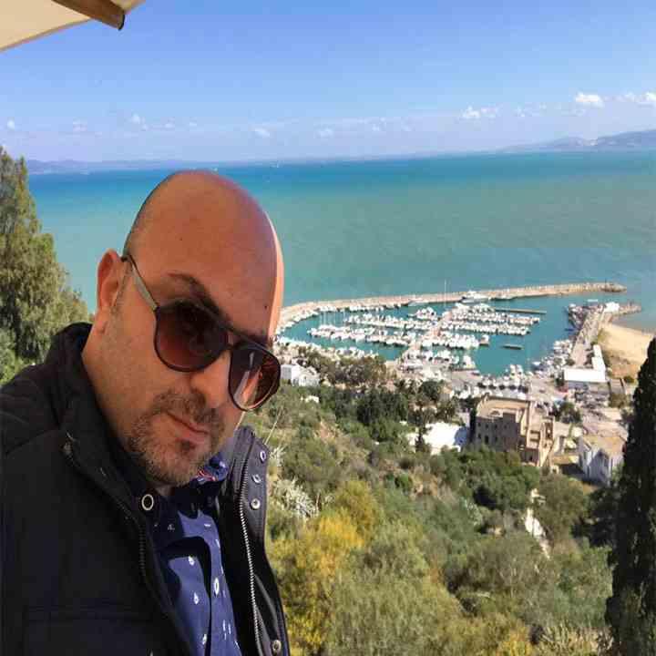 دكتور رامي العناني في دار زاروك في تونس