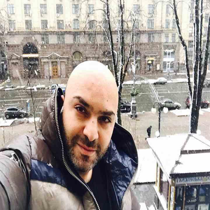 دكتور رامي العناني في اوكرانيا