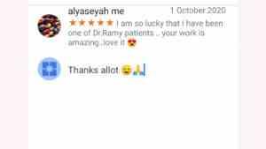 آراء بعض المرضى عن تجربتهم مع احسن دكتور تجميل في مصر دكتور رامي العناني و هو امهر دكتور تجميل